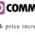 Woocommerce bulk price increase